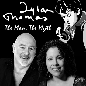 Hannah Ellis & Guy Masterson in Dylan Thomas The Man, The Myth